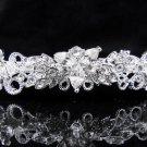 Wedding tiara;silver butterfly headband;bride bridesmaid headpiece ;opera accessories#696s