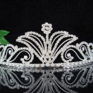 Wedding tiara;silver pearl crystal tiara ;bride bridesmaid headpiece ;opera accessories#511s