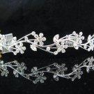 Silver Wedding tiara;crystal headband ;bride bridesmaid headpiece ;opera accessories#5305s