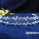Silver Wedding tiara;crystal headband ;bride bridesmaid headpiece ;opera accessories#534b