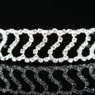 Silver Bridal tiara;crystal wedding headband ;bridesmaid headpiece ;opera accessories#412s