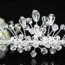 Silver Bridal tiara;crystal wedding headband ;bridesmaid headpiece ;opera accessories#7785