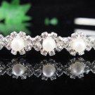 Silver Bridal tiara;crystal wedding tiara ;bridesmaid headpiece;Teen girt headband #1252