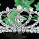 Sweetheart Bridal tiara;crystal wedding tiara ;bridesmaid headpiece;Teen girt headband #3422