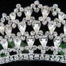 Elegance Silver Bridal imperial ;wedding tiara ;bridesmaid headpiece;Teen girt headband #760s