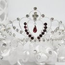 Sweet Silver Bridal tiara;crystal wedding tiara ;bridesmaid headpiece;Teen girt headband #960r