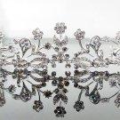 Silver Fancy Bridal tiara;crystal wedding tiara ;bridesmaid headpiece;Teen girt headband #1045