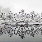 Silver Fancy Bridal tiara;crystal wedding tiara ;bridesmaid headpiece;Teen girt headband #1142