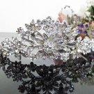 Silver Fancy Bridal tiara;crystal wedding tiara ;bridesmaid headpiece;Teen girt headband #cn33