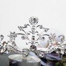 Silver Fancy Bridal tiara;crystal wedding tiara ;bridesmaid headpiece;Teen girt headband #1062