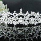 elegance silver Bridal Tiara;Bride regal ;dancer regal ;Rhinestone Wedding Headband;opera tiara#1517