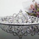 Floral Bridal Tiara;Bride regal ;dancer regal ;Rhinestone Wedding Headband;opera tiara#3457