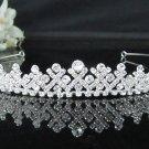 Silver Sparkle Bridal Tiara;Bride regal ;dancer regal ;Rhinestone Wedding Headband;opera tiara#6958