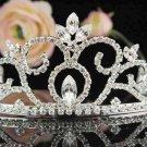 Silver Bridal Tiara;Bride regal ;dancer regal ;Gorgeous Rhinestone Wedding Headband;opera tiara#2533