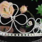 Silver Bridal Tiara;Bride regal ;dancer regal ;Gorgeous Rhinestone Wedding Headband;opera tiara#4872