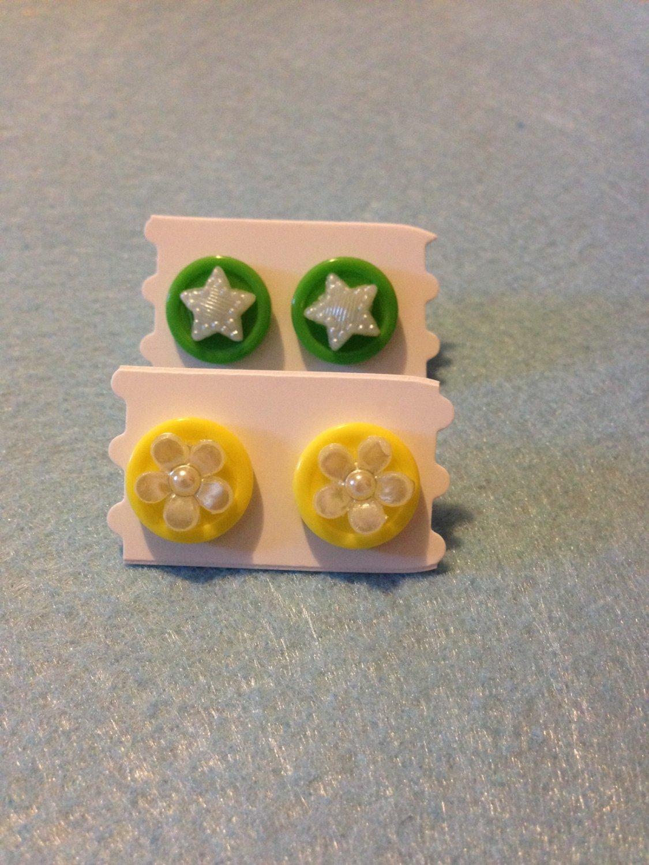 Button Post Earrings3