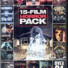 DVD Lot of 30 Horror Films - New DVDs!