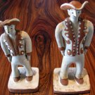 2 Brothers original Ceramic by famous Brazilian artist Maria Batista de Souza