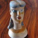Ceramic Head done by Brazilian Naif Artist Master Jacinta Batista dos Santos