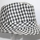 SWDSIDSI1150 - Black And White Fedora Hat