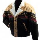 "SZ Small ""Navajo Style"" Suede Leather Jacket SWDSIDL114-S"