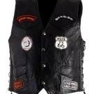 SWDSIHH148-2X MENS VEST W/PATCHES & EAGLE