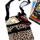 DSSWI1057- Leopard Print Crossbody Purse