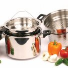 SWDSI117 - 8qt 4pc- Surgical Stainless Steel SMOKER