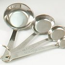SWDSI127 -4 PCS. Stainless Steel Measuring Spoons