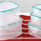 SWDSI508 - 10 PC Snap-Lock Air-Tight Storage Container Set