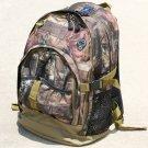 SWDSI1133 - Mossy Oak Backpack with Tan Trim
