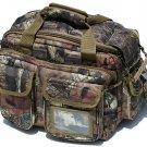 Mossy Oak Medium Deluxe Range Bag with Coyote Tan Trim  SWDSI1139