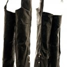SWHH113-S - Patch Leather Motorcycle Chaps