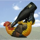 SWEDHD24437 - Rooster Wine Bottle Holder