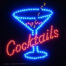 SWEDLEDcocktailsLG - 19x19 Large Cocktails LED Sign