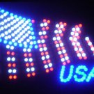 SWEDLEDFlag - 19x19 Large US Flag Motion LED Sign