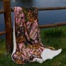 Pink Camo 50x70 Sherpa Mink Throw Style Blankets  SWEDDTR2002