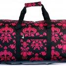 "22"" Black w/Pink Sheild Print Bag SWDSIDSI1045"