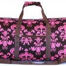 "22"" Brown w/Pink Sheild Print Bag SWDSIDSI1046"