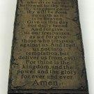 Lord's Prayer Wall Plaque - SWIWG  049-26812