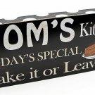 Mom's Kitchen Plaque - SWIWG   049-22340