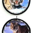 Yellow Tiger Mandala Set of 2 - SWIWG    066-1993B