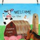Funny Farm Wall Plaque - SWIWG 0179-2608