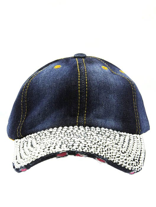 SWRUBNLH2209RDBUA - BLUE DENIM SNAPBACK  HAT AND CAP