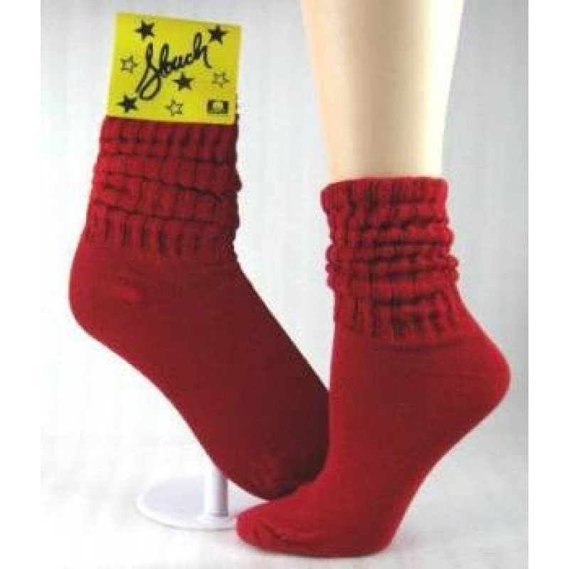 1 DOZEN SIZE 9-11 WOMENS RED SLOUCH SWALSKSL-RED