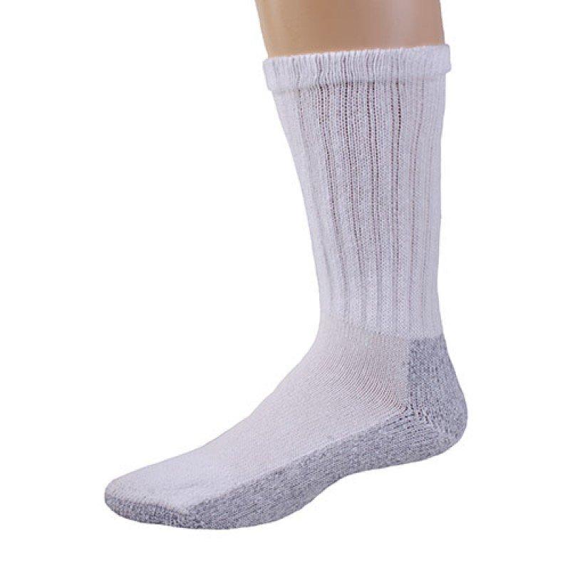 1 DOZEN SIZE 13-15 Pro Trek Brand Men's Steel Toe Boot Socks,HD Gray Bottom SWALSKC13STEEL