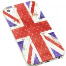 IPHONE 5/5S CASE GREAT BRITAIN FLAG - SWRUBKHA99112MLT