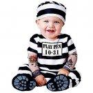 SZ 12-18 Time Out Prisoner Costume Infant Toddler  - SWWHCIC16015