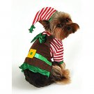 SZ Large Canine Christmas Elf Pet Costume - SWWHCAP1069