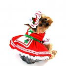 SZ Medium Canine Candy Cane Cutie Pet Costume - SWWHCAP1070